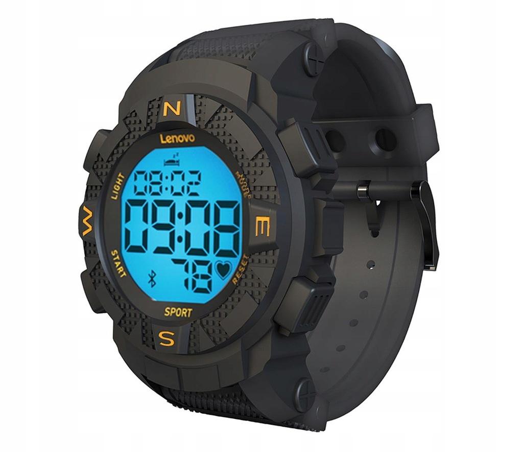 OUTLET Smartwatch Lenovo EGO HX07 1.1'' Czarny