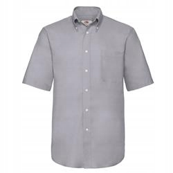 MĘSKA koszulka SHORT OXFORD FRUIT szary 3XL