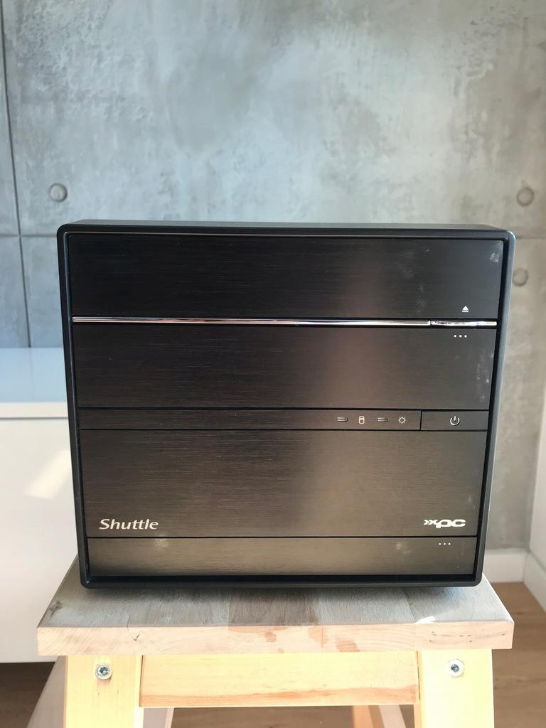 Shuttle XPC SH87R6 - mini komputer 500W 4gb g3258