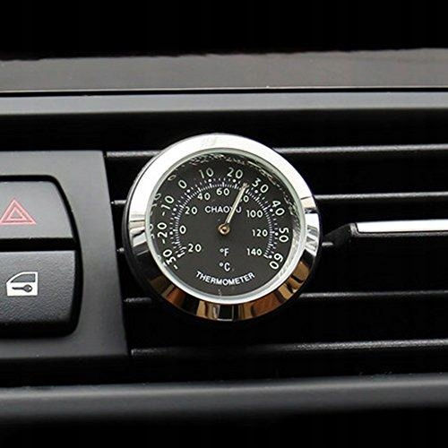 Txian Mini Car Thermometer Air Vent Klasyczny samo