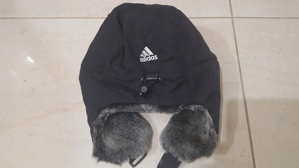 Czapka Pilotka Futrzana z uszami Adidas One Size