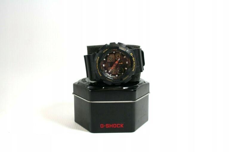 ZEGAREK CASIO G-SHOCK GA-100GBX + PUSZKA