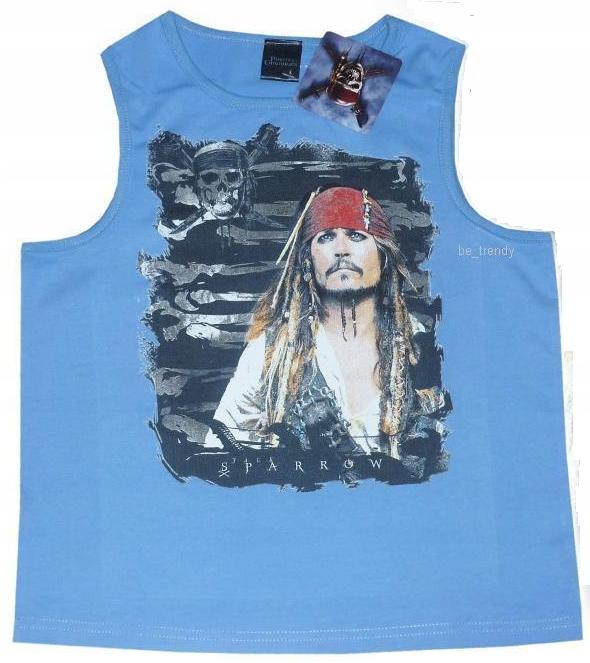 Piraci z Karaibów T-shirt 128 134 140 146 Disney
