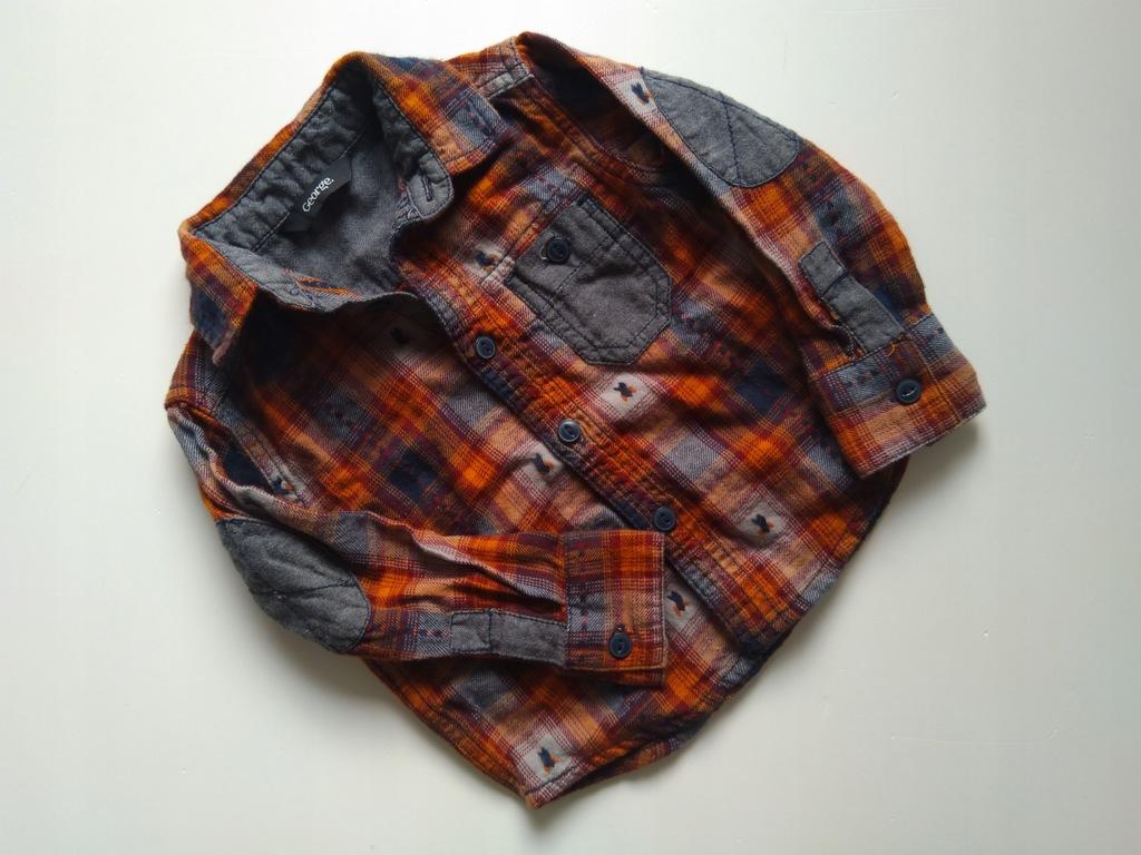 George koszula kratka łatki 80