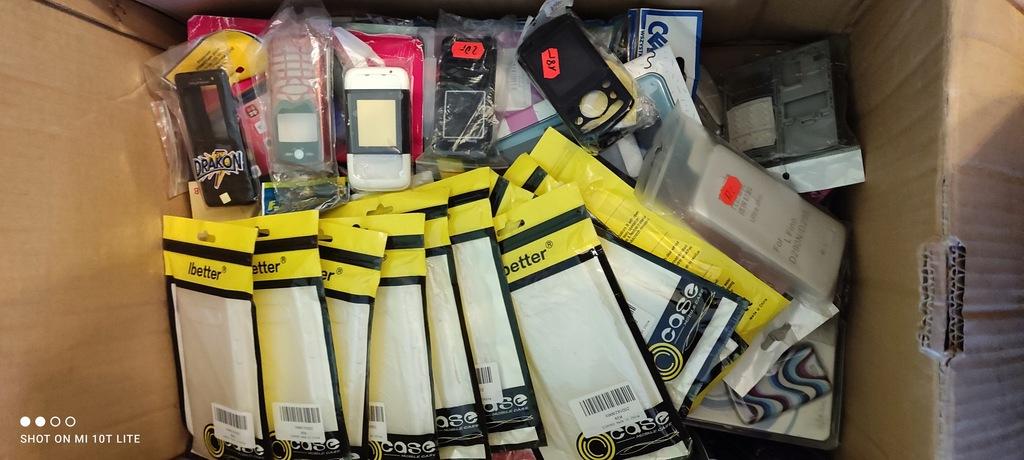 mix/karton Etui do telefonów nowe i stare modele