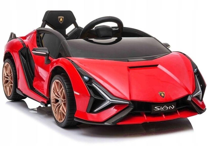 Auto na akumulator Lamborghini Sian Czerwony