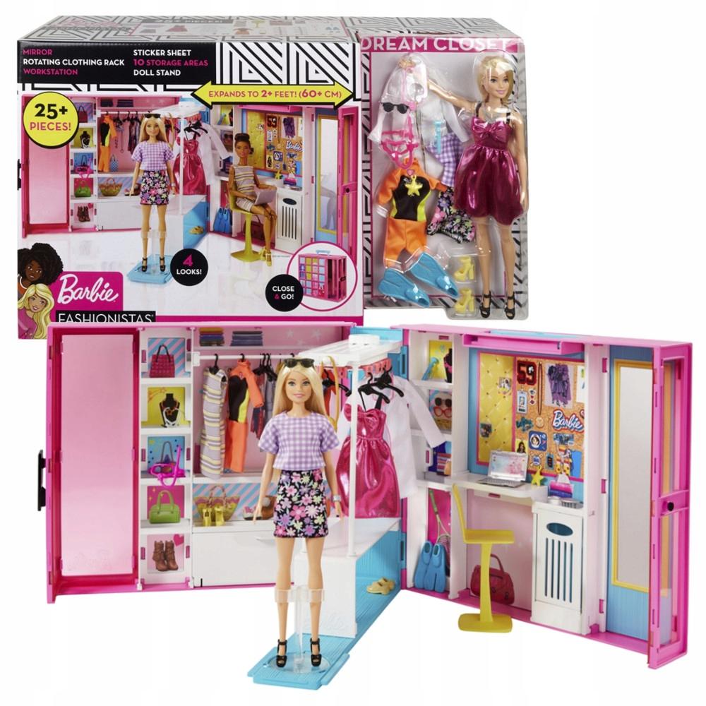 Barbie Wymarzona Szafa Lalka Zestaw Gbk10 9661896330 Oficjalne Archiwum Allegro