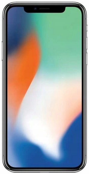 APPLE IPHONE X 256GB SILVER + GRATISY KLASA A++