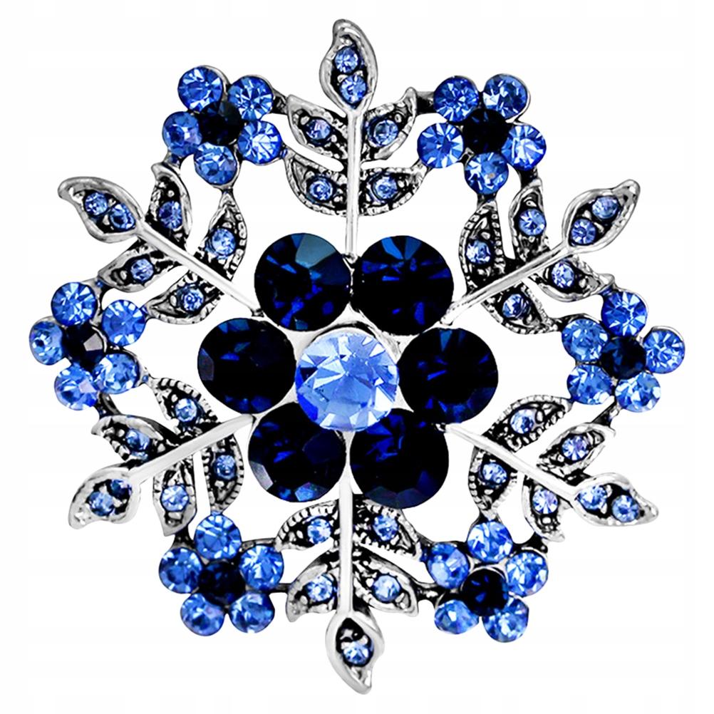 1 Pc Fashion Wzór Śniegu Broszki Kreatywny Univers
