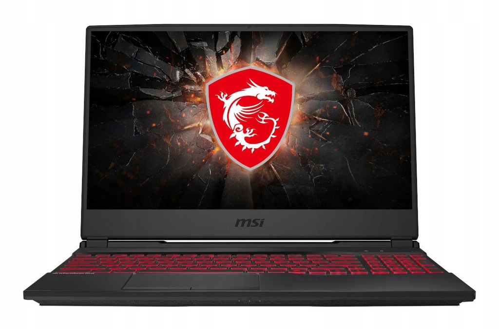 MSI GL65 9SD GTX1660Ti i7 16GB 512SSD+HDD