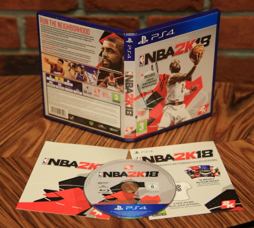 NBA 2K18 z autografem MARCINA GORTATA