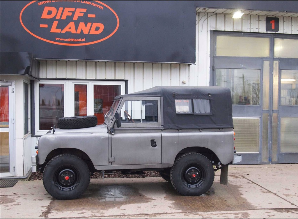 Land Rover Seria III 88 1975, DIFFLAND