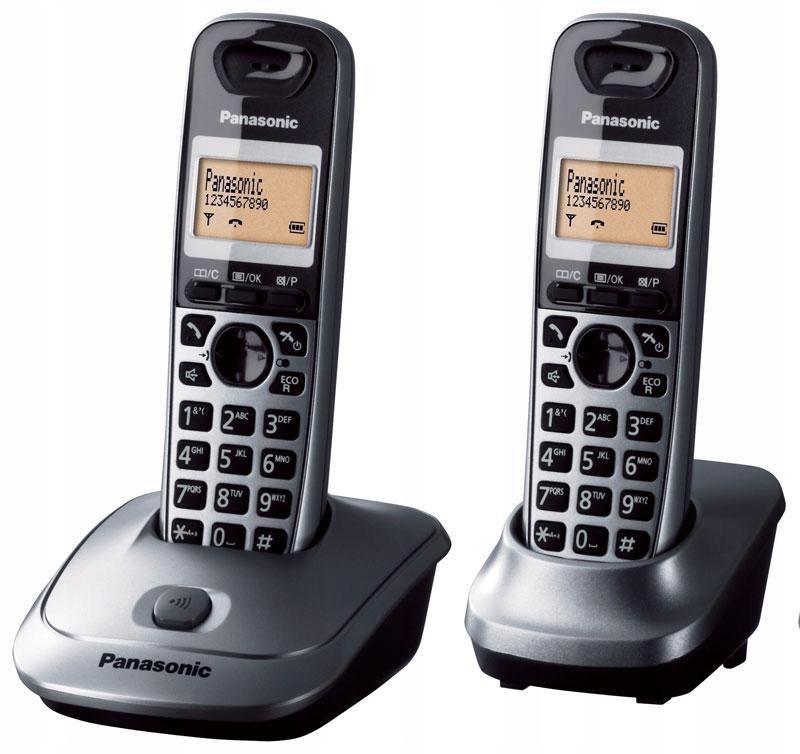 Telefon stacjonarny Panasonic KX-TG2512PDM (kolor