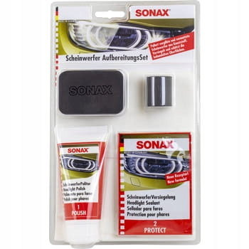 Zestaw do odnawiania reflektorów Sonax