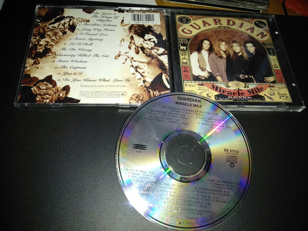 GUARDIAN - MIRACLE MILE CD 1993 USA