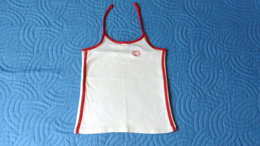 Top bluzeczka ramiączka koszulka 8-9lat 128/134
