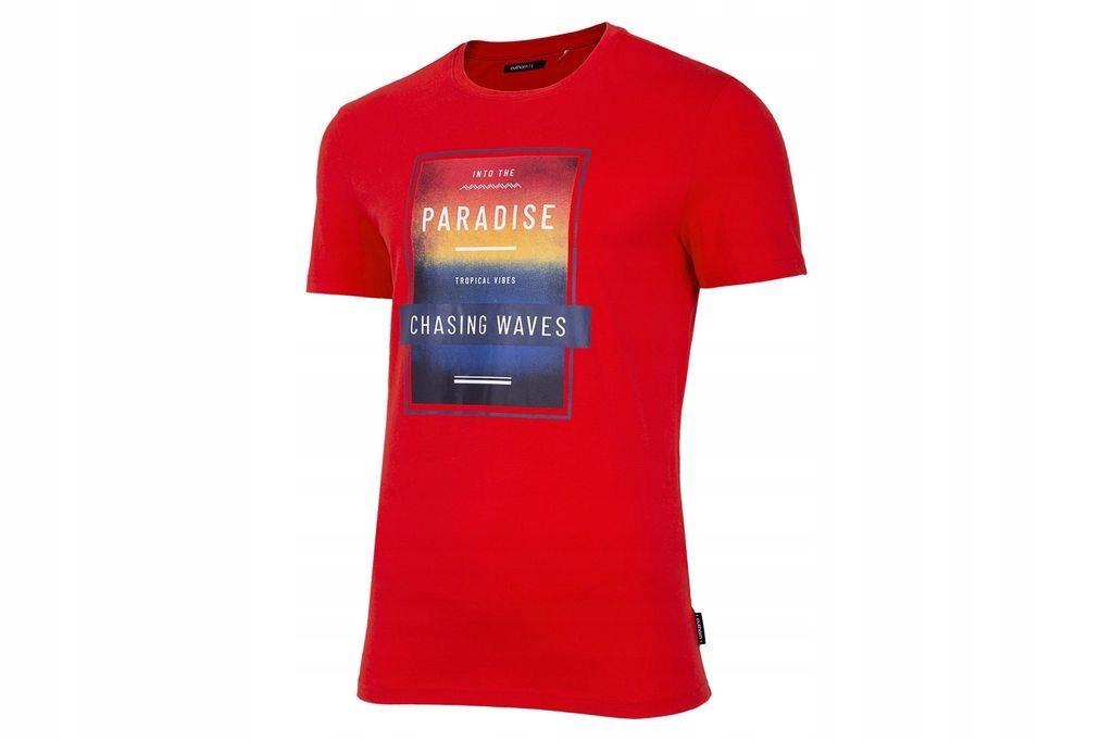 Koszulka Outhorn HOL20 TSM622 Czerwony