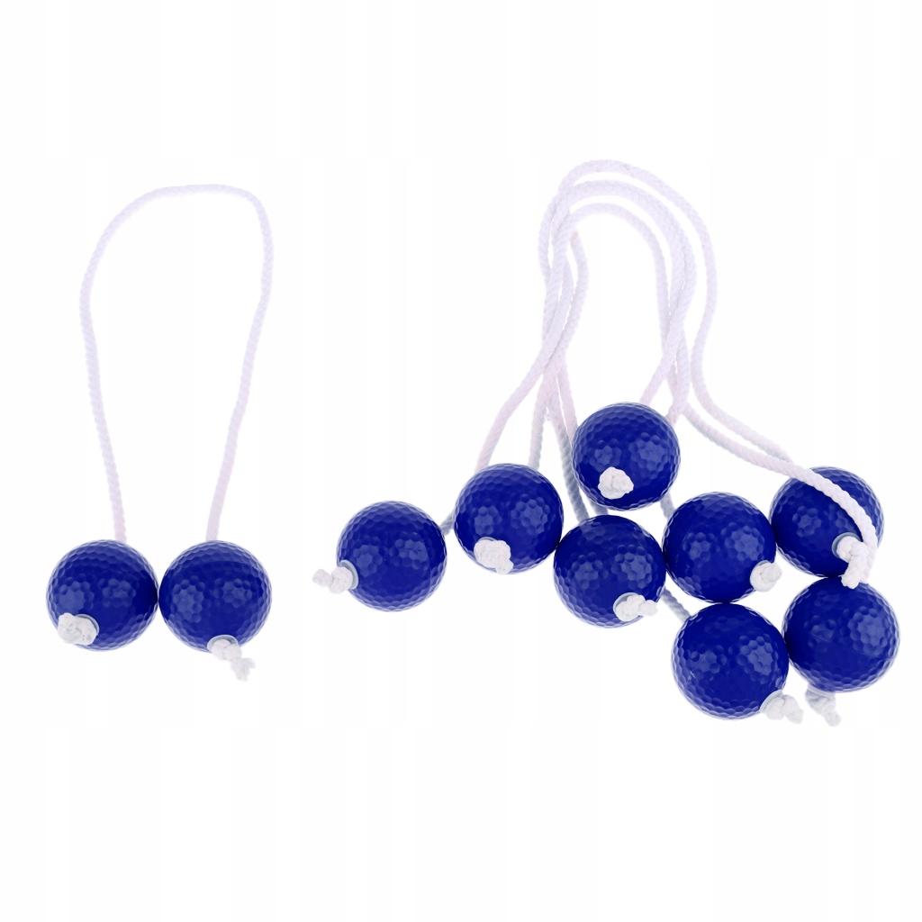 5 par ćwicz piłki golfowe - Niebieski