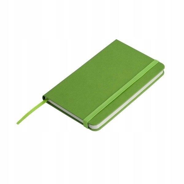 Notatnik 80x127/80k kratka Palencia, zielony
