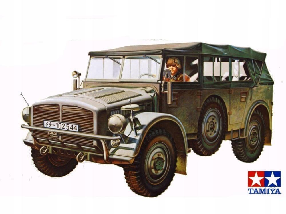 1/35 German Horch Type 1a | Model Tamiya 35052