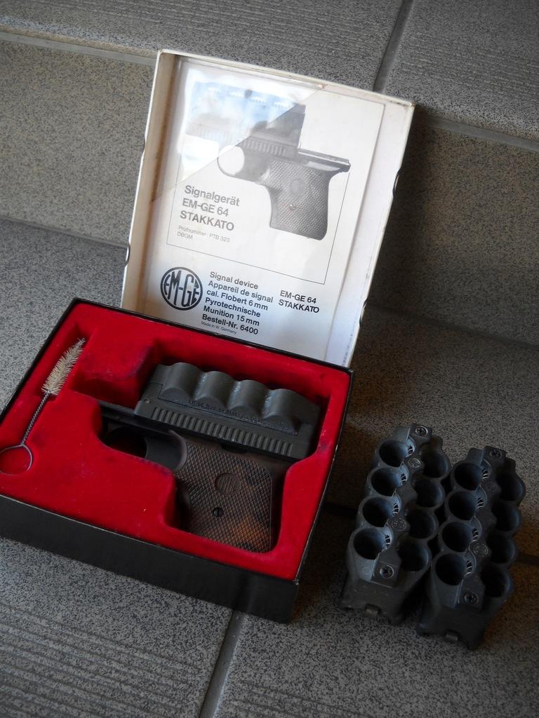 Pistolet hukowy EM-GE 64 Stakkato - okazja.