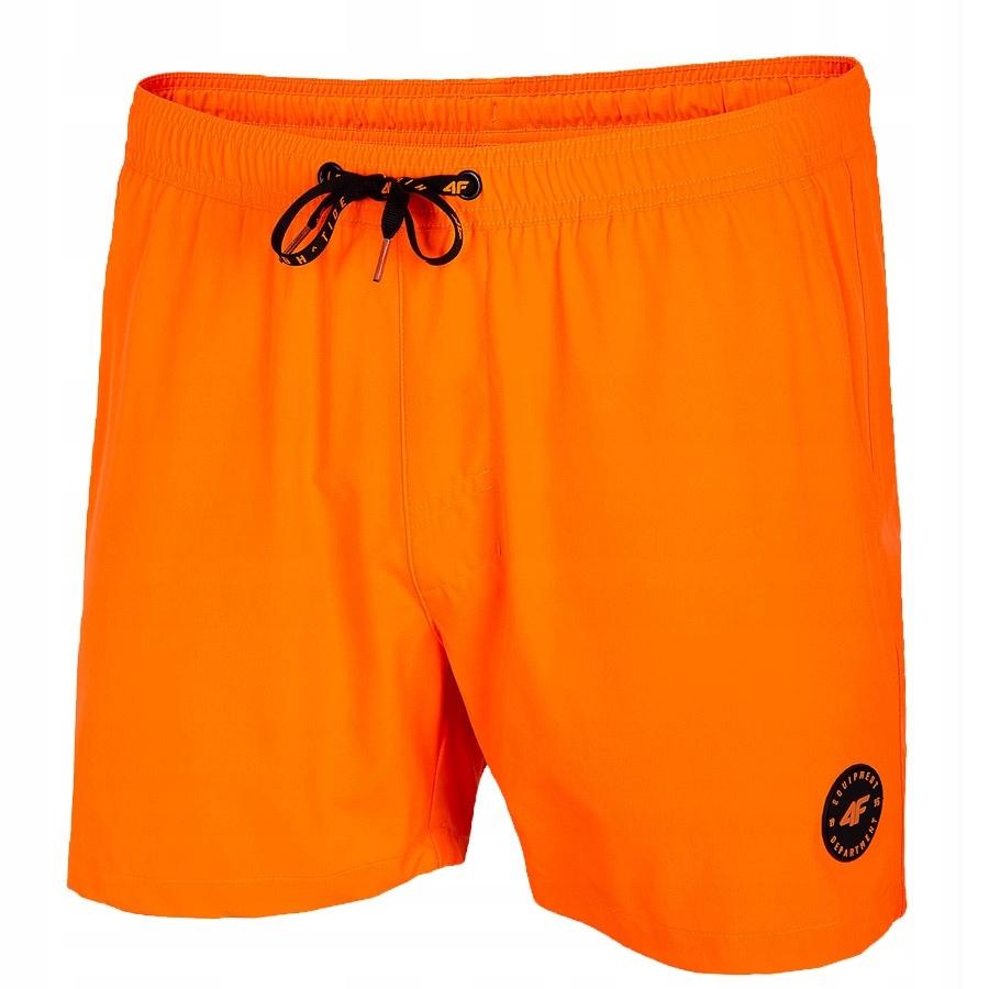 Spodenki 4F H4L20-SKMT001 70S pomarańczowy L!