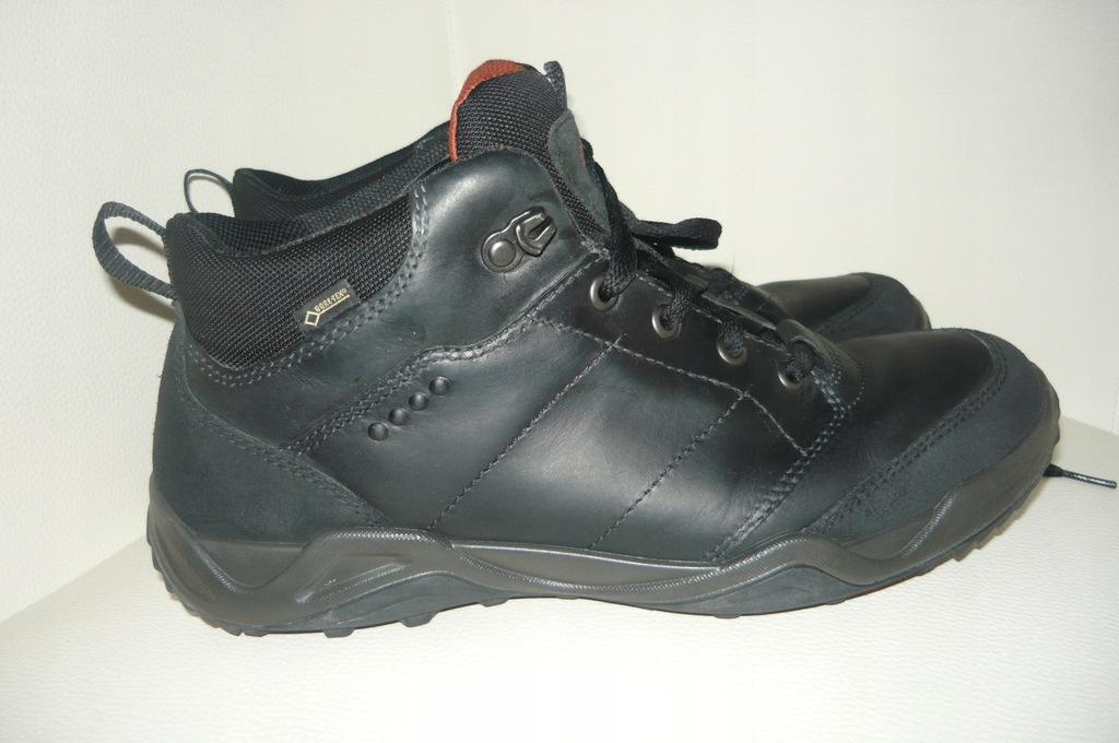 ECCO gore-tex buty za kostkę skóra roz 41 /26,5 cm