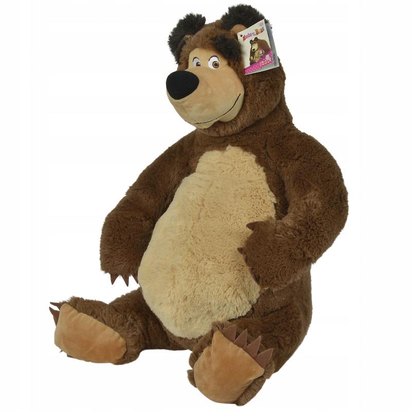 Pluszowy niedźwiedź Misza 50 cm Simba Masza i Nied