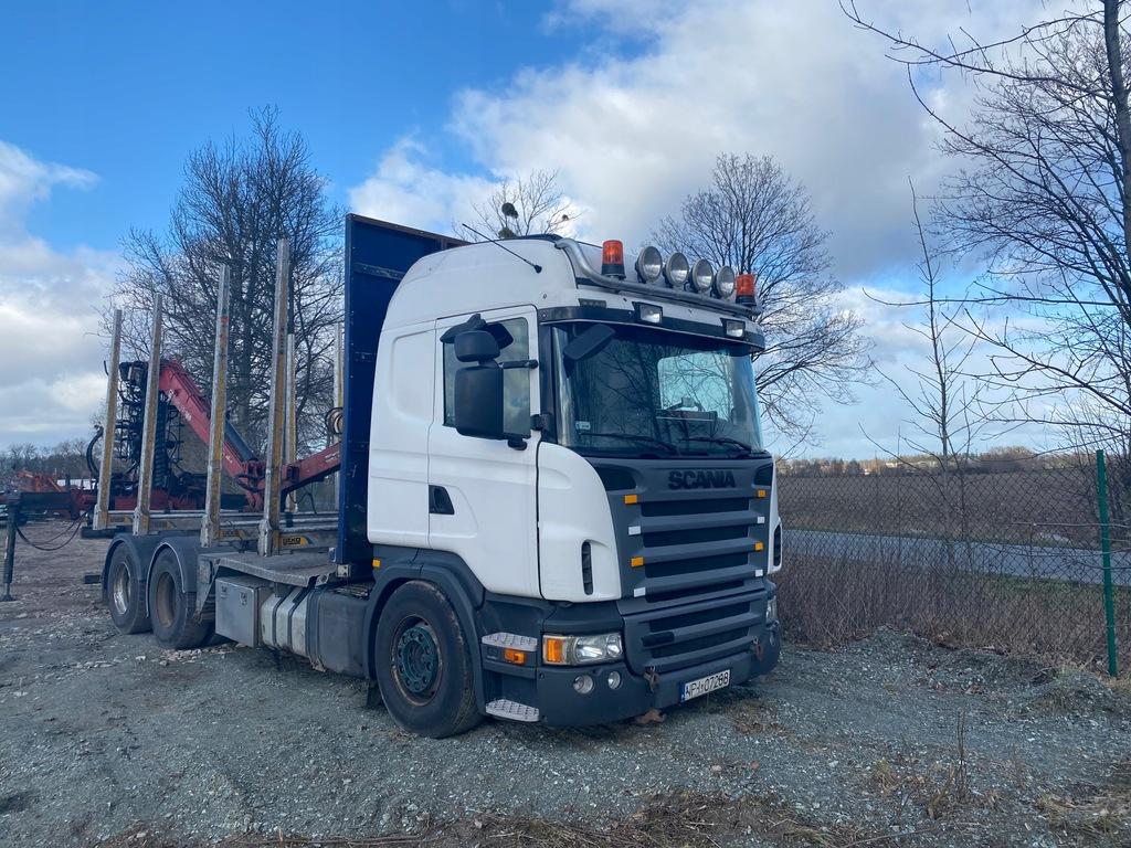 Scania Do Drewna Drzewa Do Lasu 6x4 9008254687 Oficjalne Archiwum Allegro