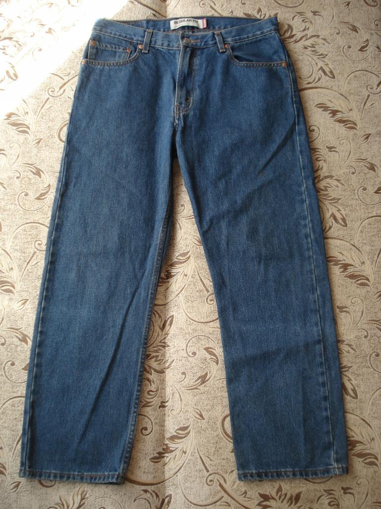 Spodnie Levi's 505 W34 L29 pas 86