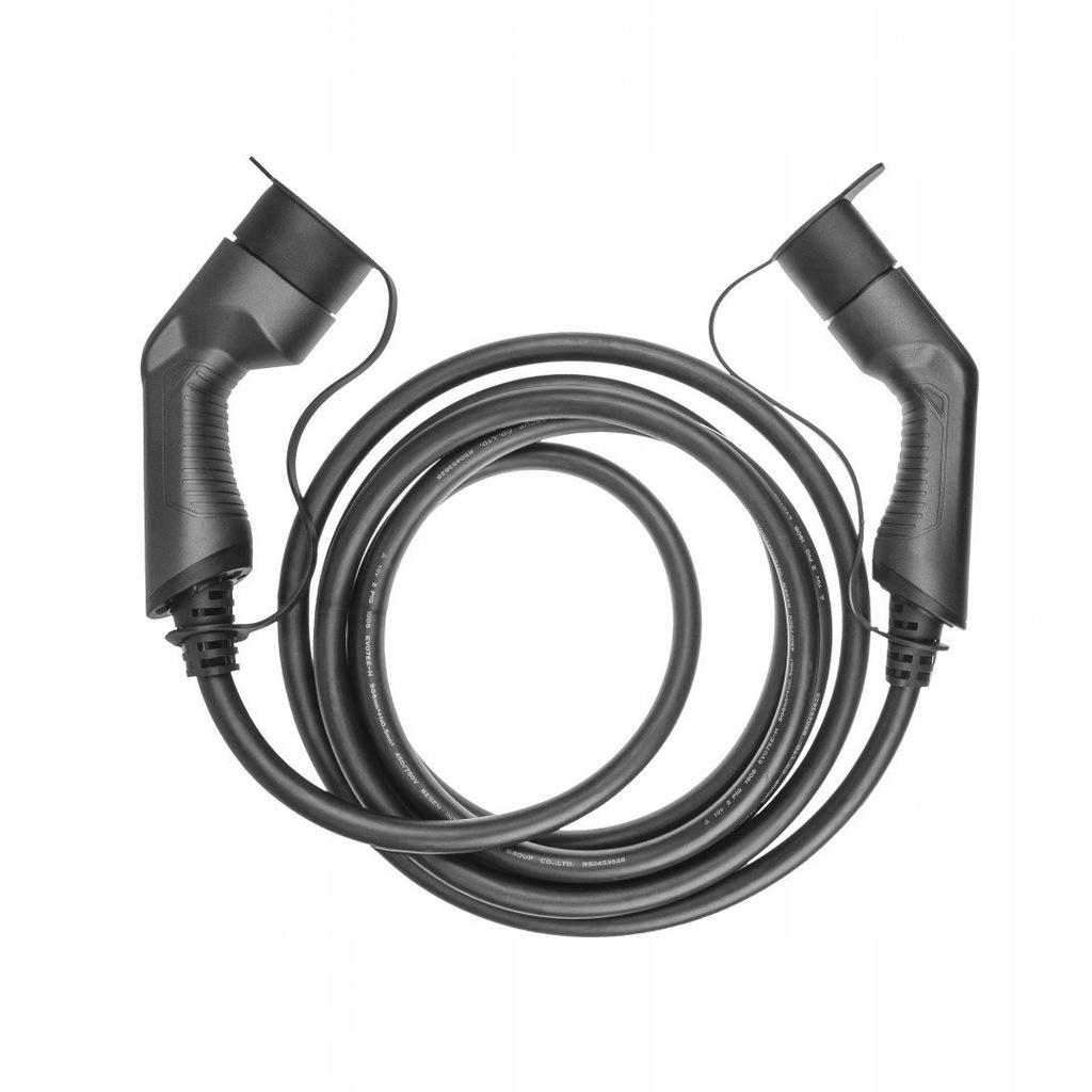 Kabel Green Cell GC EV Type 2 22kW 5m do ładowania