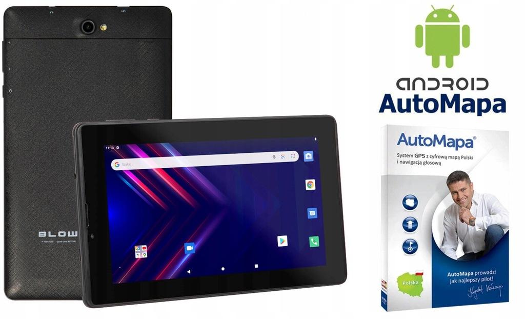 """Nawigacja Tablet BLOW BlackTAB7 7"""" + AutoMapa"""