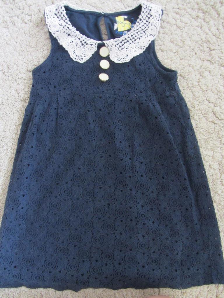 Sukienka, Tunika NEXT 7 lat, 122 cm, koronka