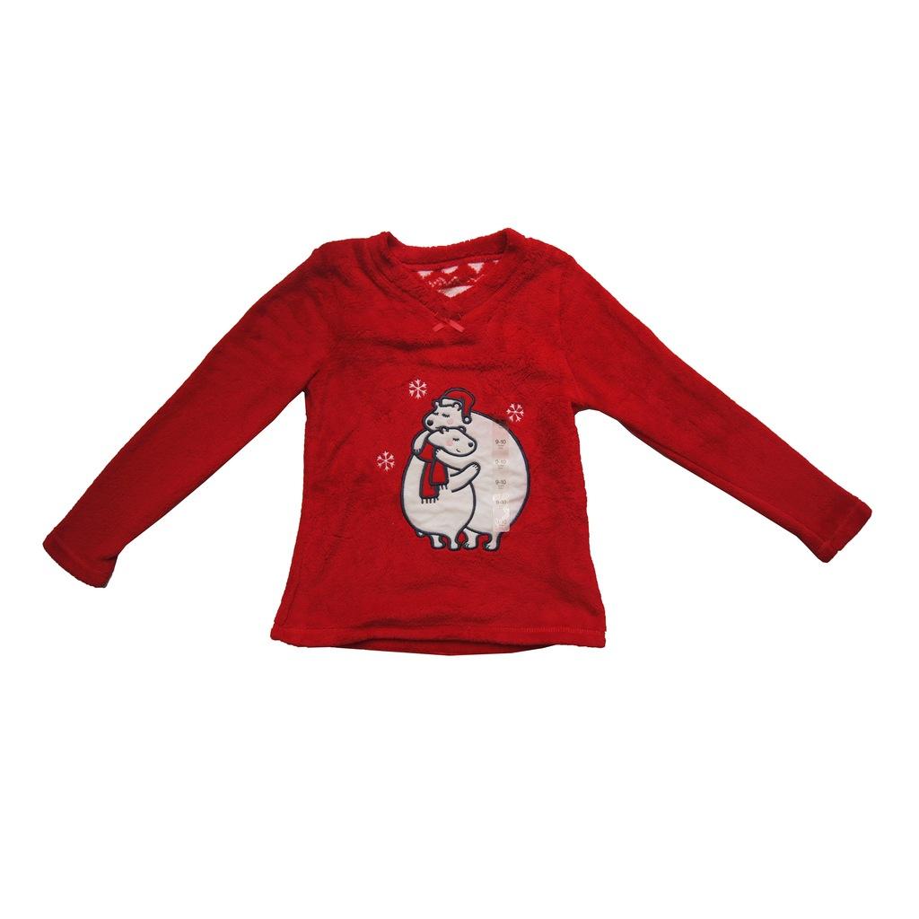 świąteczna Bluzka Dla Dziewczynki R 134 140 święta 7685062811 Oficjalne Archiwum Allegro