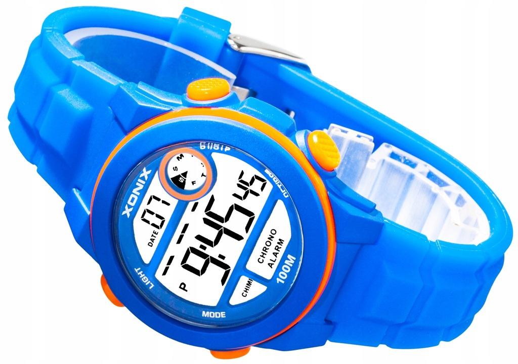 XONIX - Męski Zegarek Sportowy - Wielofunkcyjny