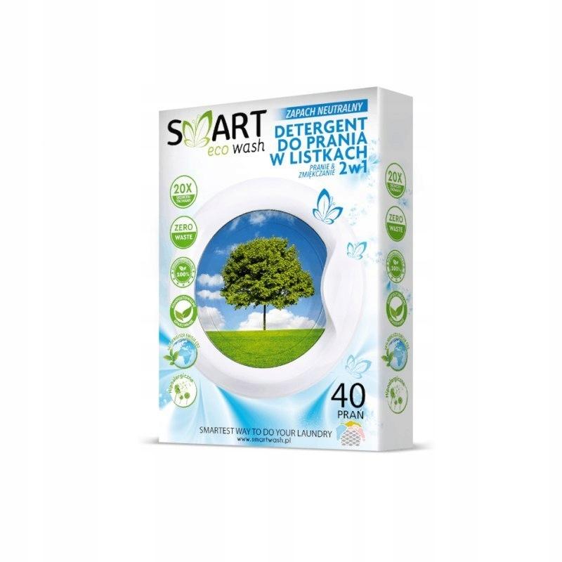 Ekologiczne listki do prania bezzapachowe 40 prań