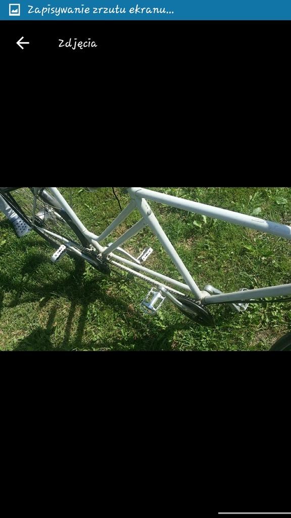 Rower tandem holenderski koła 28