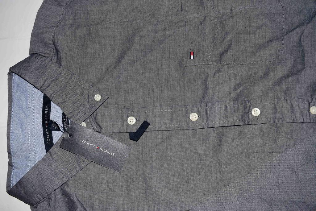 koszula męska XXXL szary Tommy Hilfiger