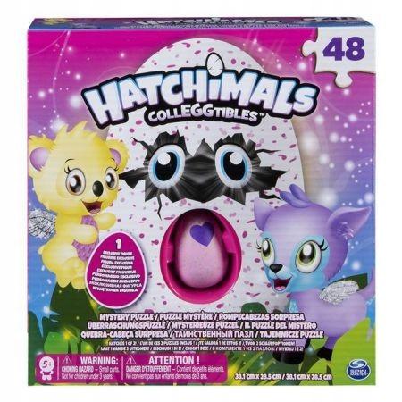 Spin Master HATCHIMALS Puzzle 48 + jajko W-wa