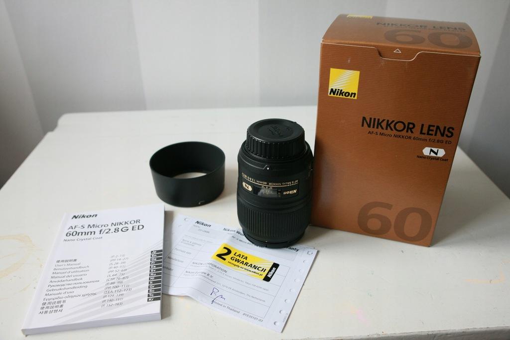 obiektyw AF-S Micro NIKKOR 60mm 1:2,8G ED