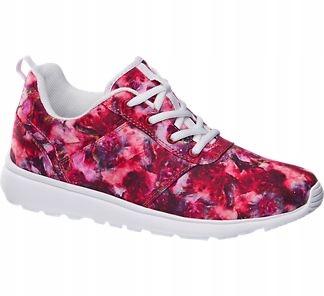 sneakers floral kwiaty Vty deichmann 39 margaret
