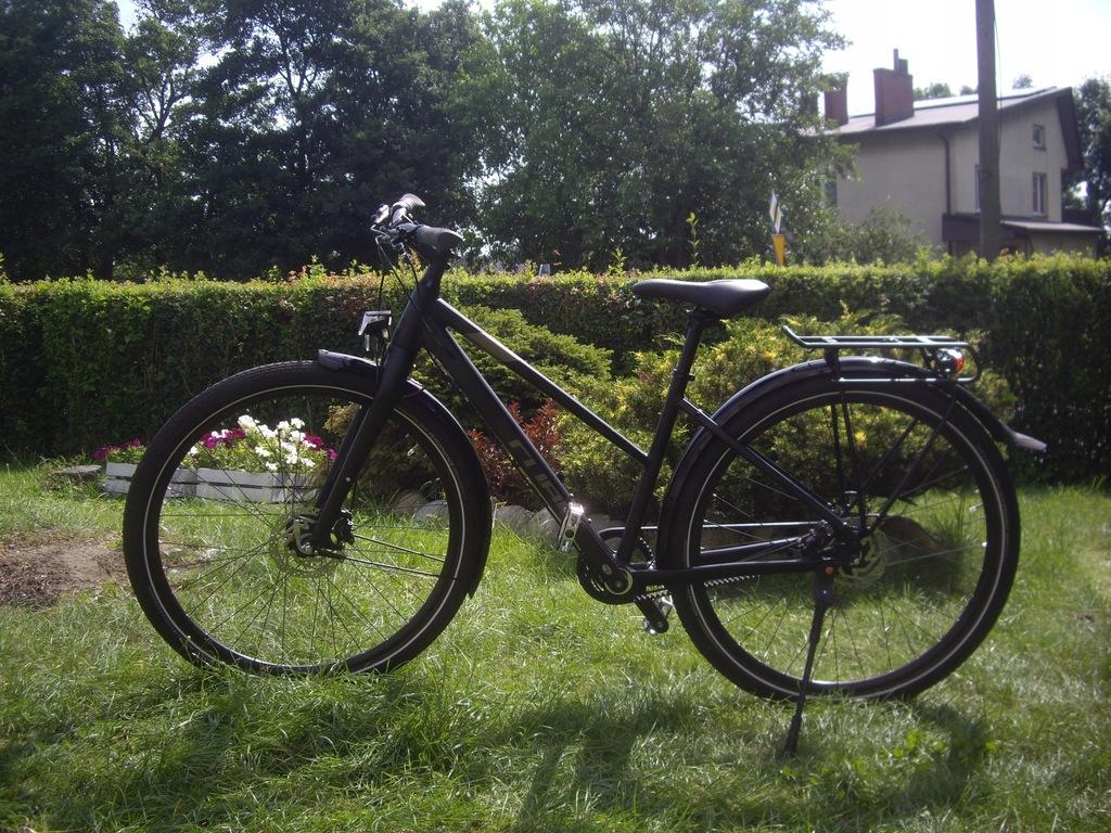 Rower Damski - CUBE TRAVEL HPA PRO pasek carbon !!
