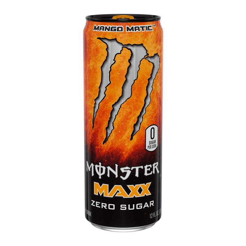 Monster MAXX Mango Matic, z nitro o smaku mango