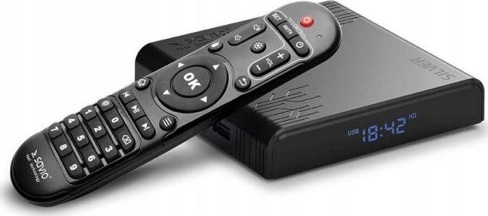 Savio Smart TV Box Silver TB-S01 2/16 GB Android