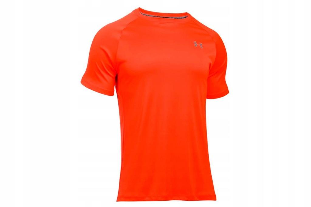 UNDER ARMOUR HEATGEAR RUN S/S T (L) Męski T-shirt
