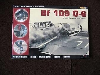 SAMOLOT MYŚLIWSKI BF 109 G-6 TOPSHOTS