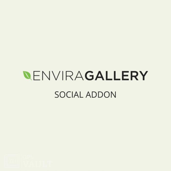 Wtyczka WordPress Envira Gallery Social Add-On