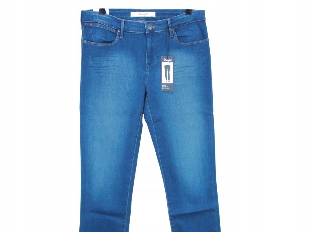 Spodnie Damskie Wrangler Drew Straight W33 L34