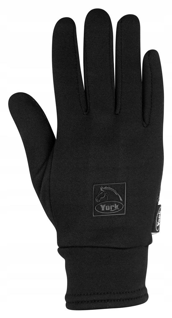 Rękawiczki jeździeckie zimowe York Snow L