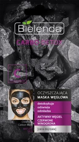 BIELENDA CARBO DETOX Maska Węglowa WINOGRONA